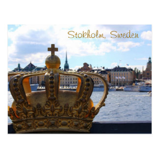 Carte Postale Stockholm, Suède