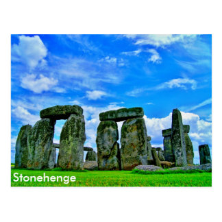 Carte Postale Stonehenge, Angleterre