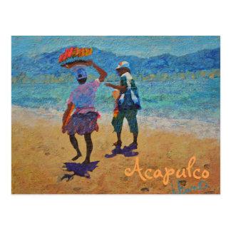 Carte postale stupéfiante d'Acapulco - Mexique