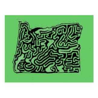 Carte Postale Stupéfier cinquante produits de labyrinthes