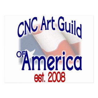 Carte Postale Substance de guilde d'art de commande numérique