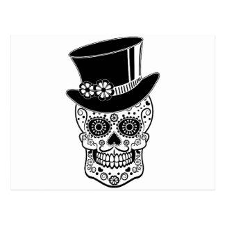 Carte Postale Sucre Skull-01 de monsieur