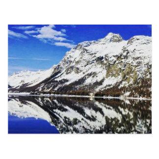 Carte postale suisse d'Alpes