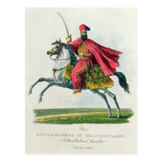 Carte Postale Sultan Mahmud II 1829