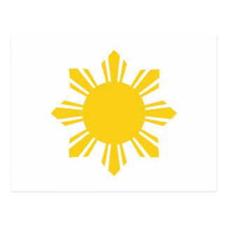 Carte Postale Sun philippin, Pinoy Sun, Philippin Sun