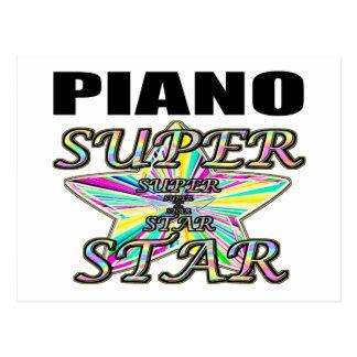 Carte Postale Superstar de piano