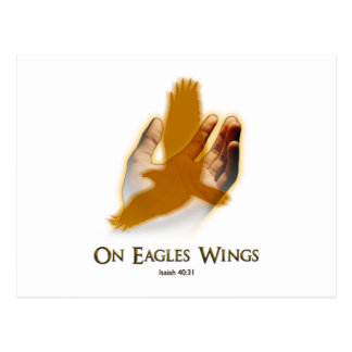 Carte Postale Sur des ailes d'Eagles