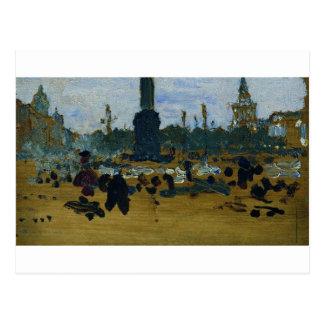 Carte Postale Sur le carré de palais à St Petersburg par Ilya