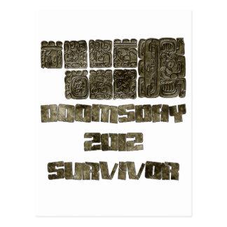 Carte Postale Survivant 2012 de jour du Jugement dernier