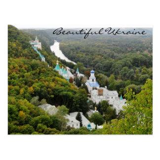Carte Postale Sviatohirsk Lavra, Ukraine