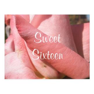 Carte Postale Sweet sixteen