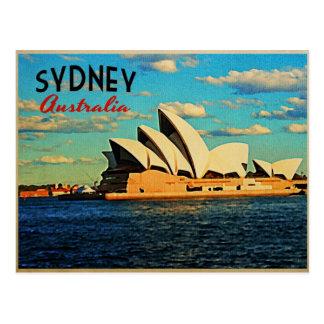 Carte Postale Sydney Australie