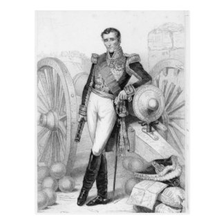 Carte Postale Sylvain Charles Valee, compte et maréchal