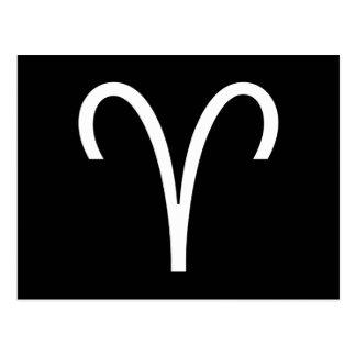 Carte Postale Symbole de Bélier