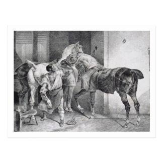 Carte Postale T34894 le maréchal-ferrant anglais, 1822 (litho)