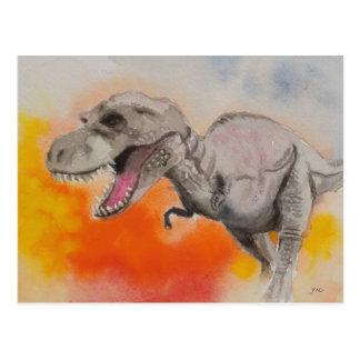 Carte Postale T-rex 1