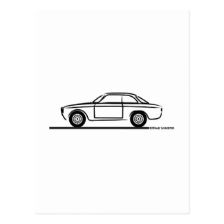 Carte Postale T-shirt d'Alfa Romeo GTA GTV