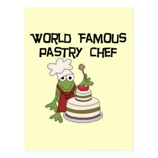 Carte Postale T-shirts et cadeaux de chef de pâtisserie de