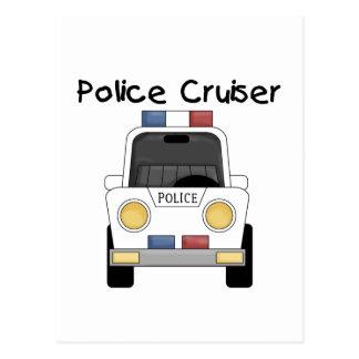 Carte Postale T-shirts et cadeaux de croiseur de police