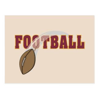 Carte Postale T-shirts et cadeaux de lancer du football