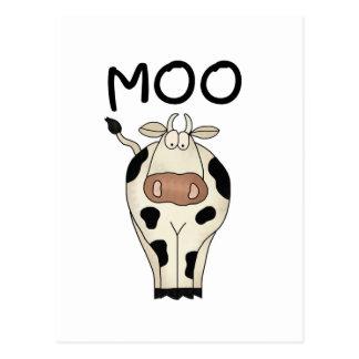 Carte Postale T-shirts et cadeaux de vache à MOO