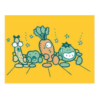 Carte Postale T-shirts et cadeaux idiots de légume