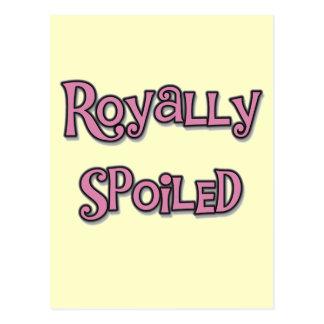 Carte Postale T-shirts et cadeaux royal corrompus