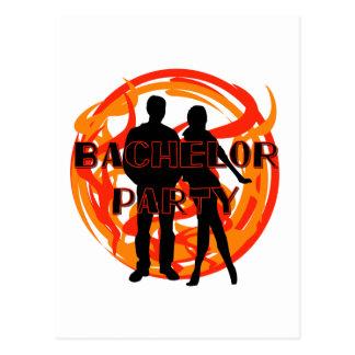 Carte Postale T-shirts et cadeaux trop chauds d'enterrement de