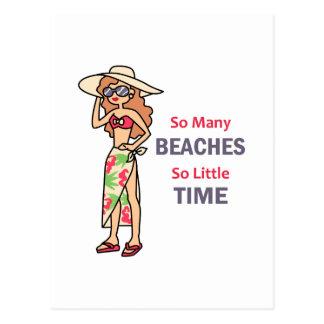 Carte Postale Tant de plages