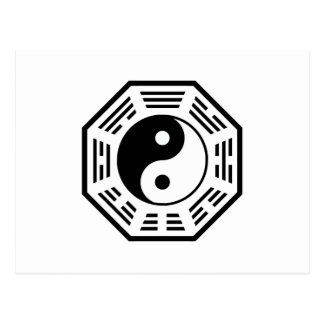 CARTE POSTALE TAO - YIN ET YANG - MYSTIQUE ORIENTALE DE