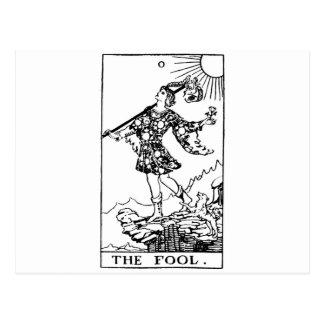 Carte Postale Tarot - imbécile