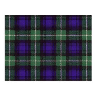 Carte Postale Tartan d'écossais de Lamont