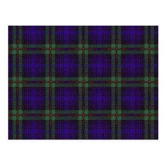 Carte Postale Tartan d'écossais de Mackinlay