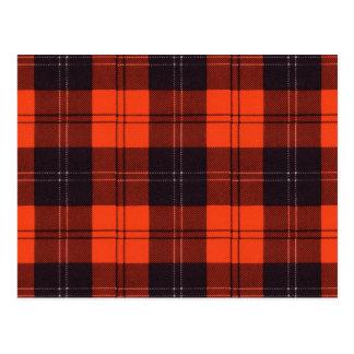 Carte Postale Tartan d'écossais de Ramsay