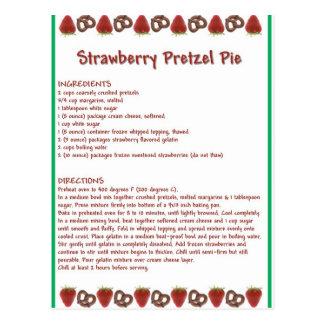 Carte Postale Tarte de fraise