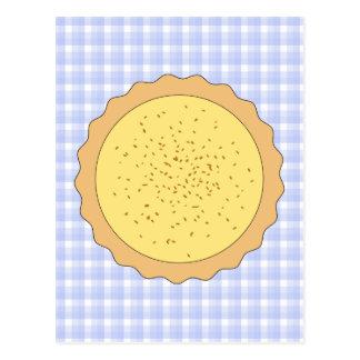 Carte Postale Tarte de tarte de crème anglaise