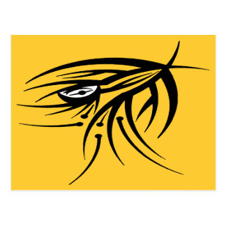 Carte Postale Tatouage tribal d'oeil