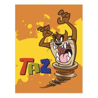 Carte Postale TAZ™ sauvage