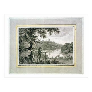 Carte Postale Télécarte de Humphrey Repton, gravée par Thoma