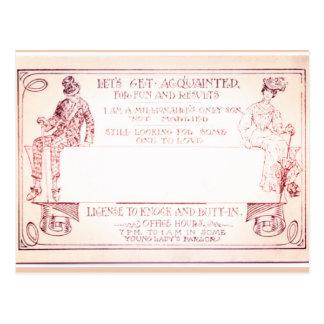 Carte Postale Télécarte victorienne de millionnaire