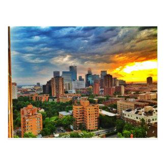 Carte Postale Tempête de Minneapolis