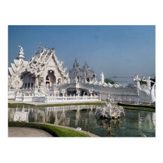 Carte Postale Temple blanc Wat Rong Khun, Chiang Rai, Thaïlande