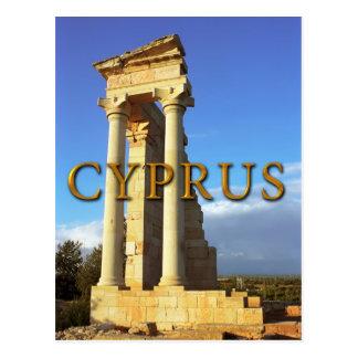 Carte Postale Temple d'Apollo romain Chypre