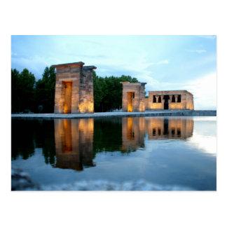 Carte Postale Temple de Debod - Madrid