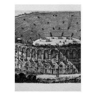Carte Postale Temple de Pola dans Istria par Giovanni Battista