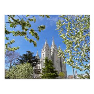 Carte Postale Temple de Salt Lake City en ressort