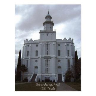 Carte Postale Temple de St George LDS