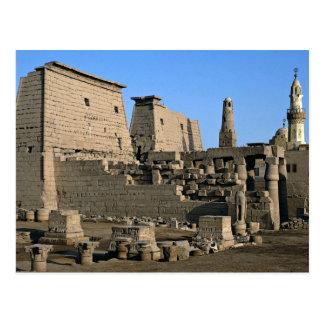Carte Postale Temple désert de Louxor, Louxor, Egypte