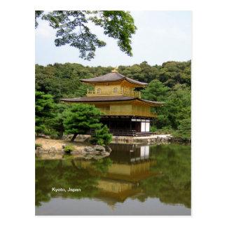 Carte Postale Temple d'or, Kyoto, Japon