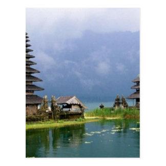 Carte Postale temple Indonésie de Bali